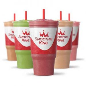 Free Slim-n-Trim Smoothie with Smoothie King App