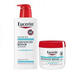 Free Eucerin Advanced Repair Body Lotion or Cream