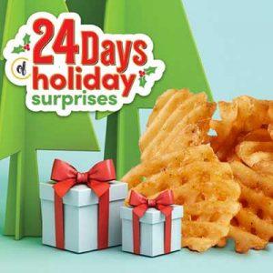 Free Waffle Fries at GetGo