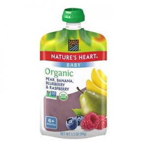 Free Nature's Heart Pouch at Price Chopper