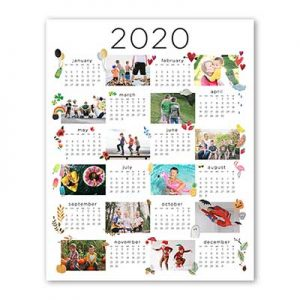 Free 8×11 Wall Calendar from Shutterfly for New Customers