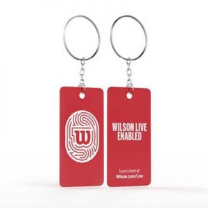 Free Wilson Live Enabled Keychain