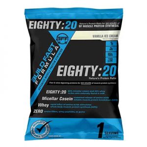 Free Build Fast Formula Eighty:20 Supplement