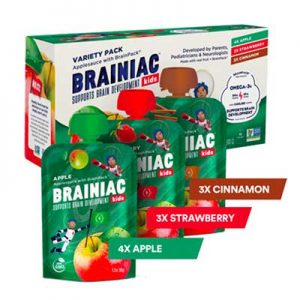 Free Brainiac Kids Applesauce from Moms Meet