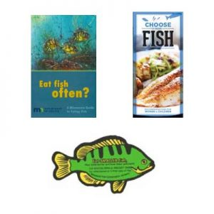Free Fish Magnet and Brochures