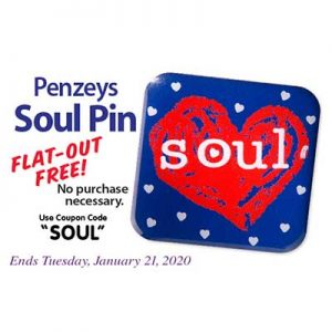 Free Penzeys Soul Pin