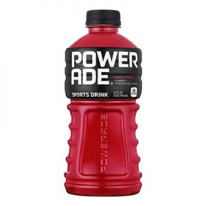 Free Powerade at Casey's