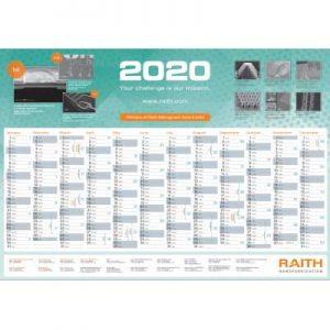 Free 2020 Raith Calendar
