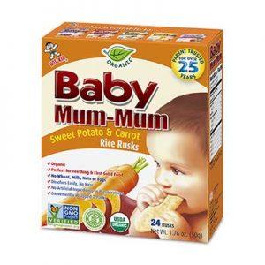Free Baby Mum-Mum Rice Rusks from Moms Meet