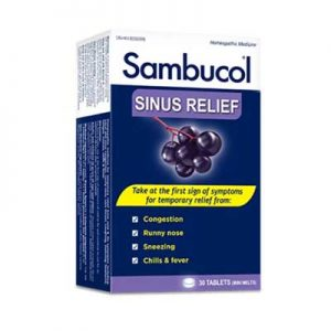 Free Sambucol Sinus Relief from Social Nature for Canada