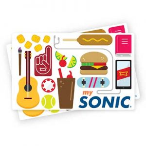 Free $25 Sonic eGift Card for Winners