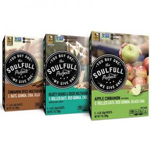 Free Soulfull Project Hot Cereal 5-Pack from Moms Meet