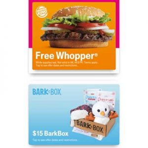 Free Burger King Whopper or Taco Bell Item for T-Mobile Customers