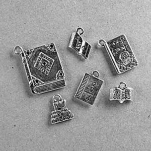 Free Booklovers' Charm Set, Just Pay Shipping