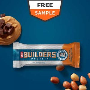 Free Clif Builders Protein Bars or Afrin Spray from Freeosk
