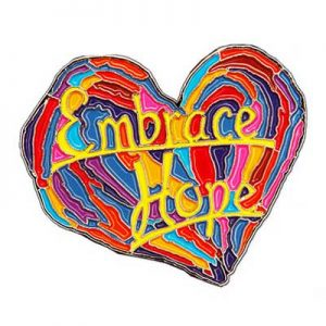 Free Embrace Hope Pin