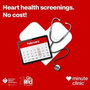 Free Heart Health Preventive Screening at MinuteClinic