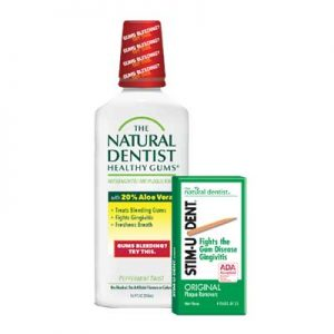 Free Natural Dentist Mouth Rinse and Plaque Removers