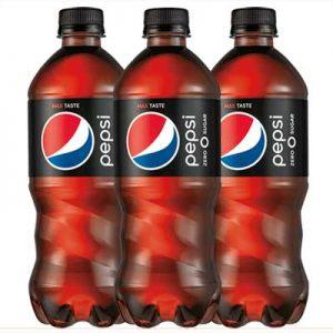 Free Pepsi Zero Sugar at Casey's