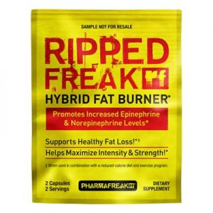Free Sample of Pharmafreak Ripped Freak Fat Burner