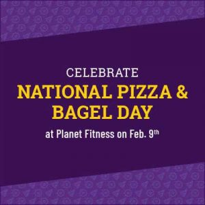 Free Bagel, Pizza and Workout on February 9