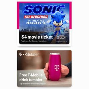 Free Drink Tumbler for T-Mobile Customers