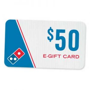 Free $4 Domino's Pizza Gift Card for Winners