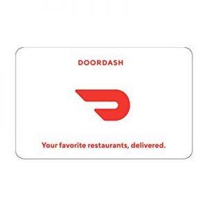 Free Pizza or $20 Door Dash Gift Code for Winners