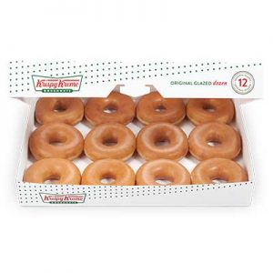 Free Dozen of Krispy Kreme Doughnuts for Healthcare Workers