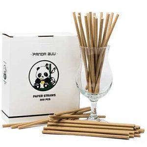 Free Panda Buu Paper or Metal Straw