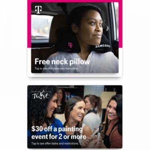 Free Neck Pillow and More for T-Mobile Customers