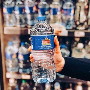 Free Bottle of Water at Casey's