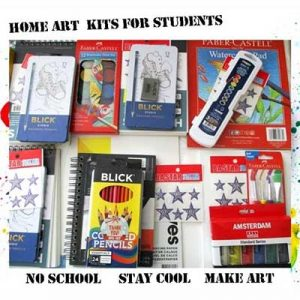 Free Home Art Kit For Kids
