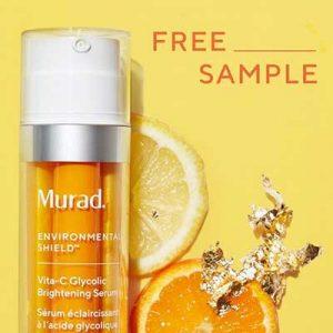 Free Murad Vita-C Glycolic Brightening Serum for Winners