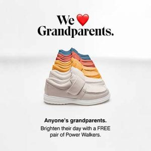 Free Power Walker Sneakers for Grandparents