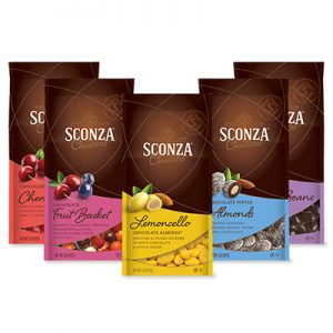 Free Sconza Chocolates and Swag for Ambassadors