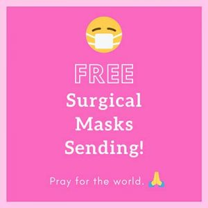 Free 10 Surgical Masks