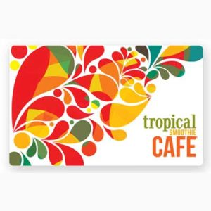 Free Tropical Smoothie Cafe Gift Card for Winners