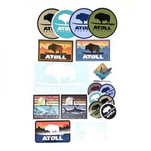 Free Atoll Board Company Sticker Pack