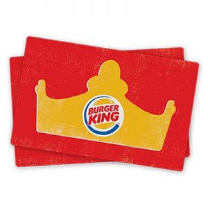 Free Burger King Gift Card for Winners