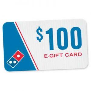 Free $4 Domino's E-Gift Code