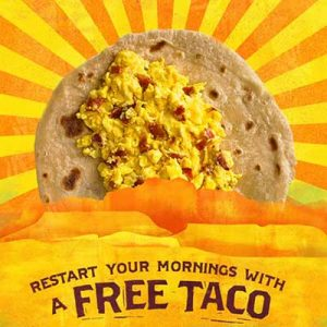 Free Original Breakfast Taco