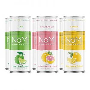 Free Nomi Sparkling Water Pack