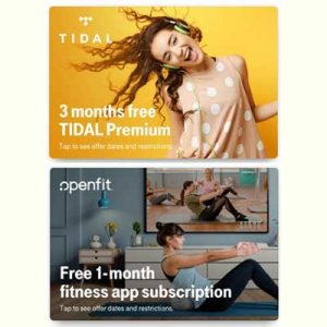 Free Tidal Premium, Openfit App Access for T-Mobile Customers