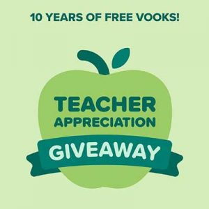 Free 10-Year Access to Vooks for Winners