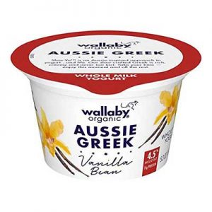 Free Wallaby Organic Aussie Greek Yogurt with Ibotta Rebate
