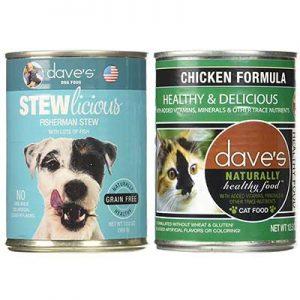Free Dave's Pet Food Samples