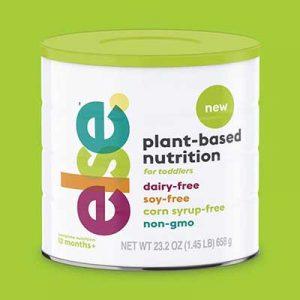 Free Else Plant-Based Toddler Nutrition Sample