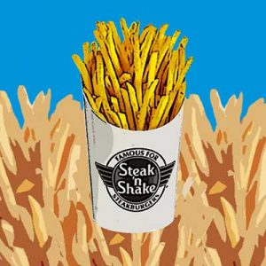 Free Fries at Steak 'n Shake