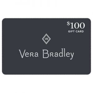 Free Vera Bradley Gift Card for Winners